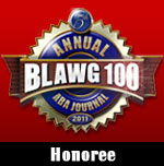 ABA Journal Blawg 100 2011